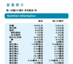 立攝適均康營養配方香草9